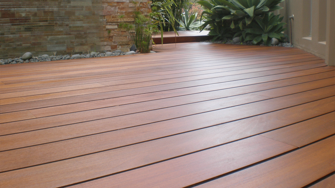 Decking benchmark timber for Timber decking materials